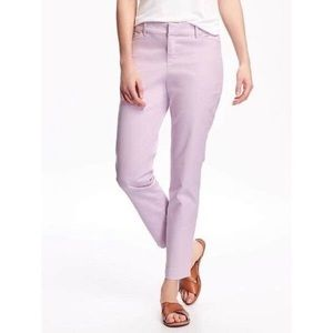 Old Navy Lavender Pixie Chino Pant Size 0